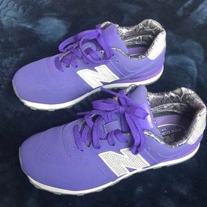 New Balance purple 547 shoes.